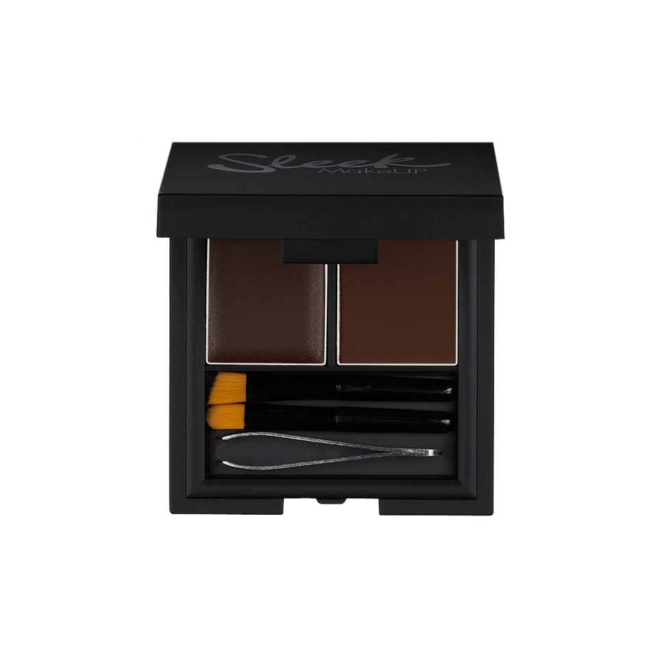 SLEEK MakeUP Набор для бровей Extra Dark / BROW KIT контур для бровей light sleek makeup