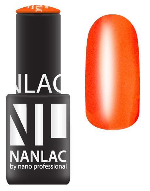 NANO PROFESSIONAL 2084 гель-лак для ногтей, вулканы Доминики / NANLAC 6 мл
