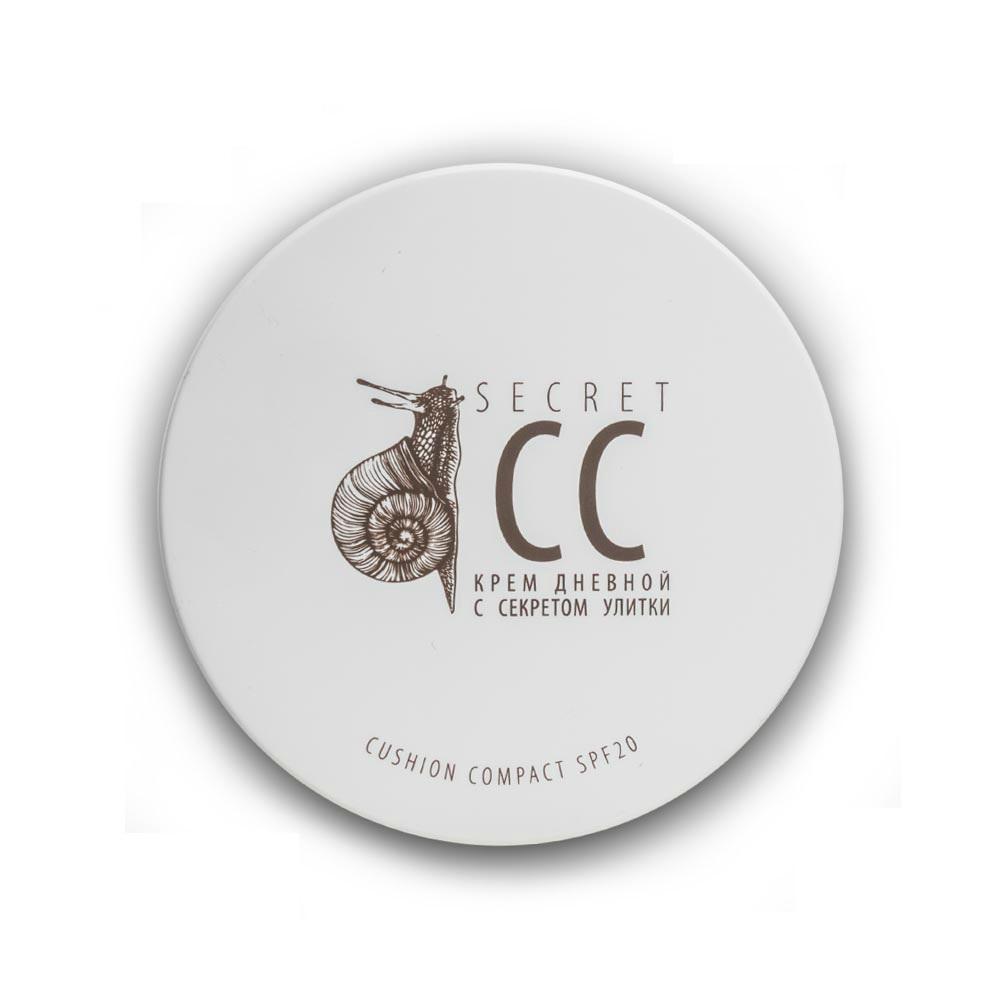 PREMIUM Крем дневной c секретом улитки, Кушон компакт SPF-20 / Homework secret cream 15 мл