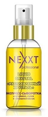 """NEXXT professional Экспресс-сыворотка для ломких, сухих, секущихся волос """"Расплавленный хрусталь"""" 50мл"""