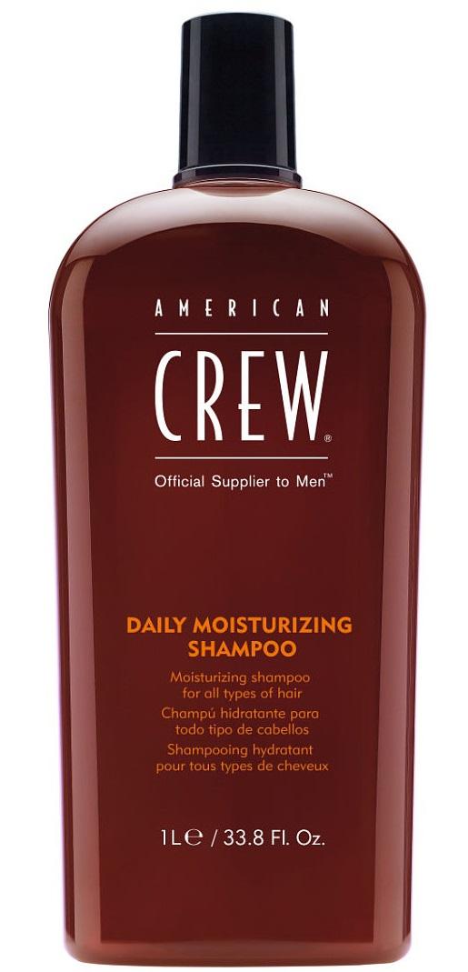 AMERICAN CREW Шампунь для ежедневного ухода за нормальными и сухими волосами, для мужчин / Daily Moisturizing Shampoo 1000 мл