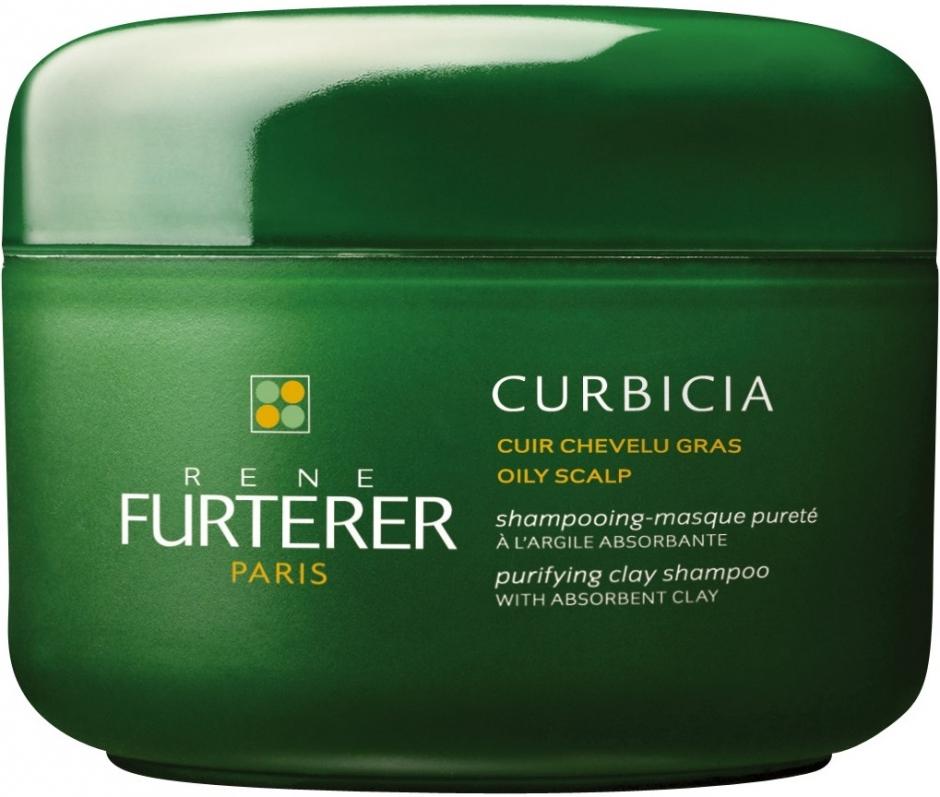 RENE FURTERER Шампунь-маска очищающий на основе глины / Curbicia 200мл