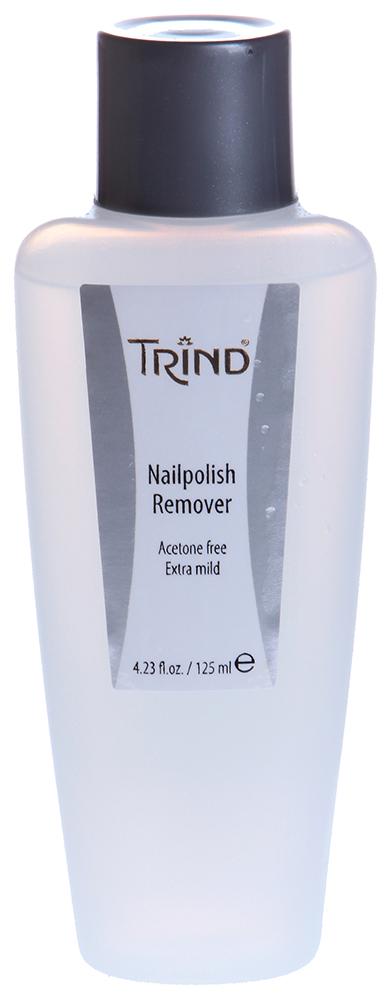 TRIND Жидкость для снятия лака без ацетона / Acetone Free NP Remover 125 мл -  Снятие лака