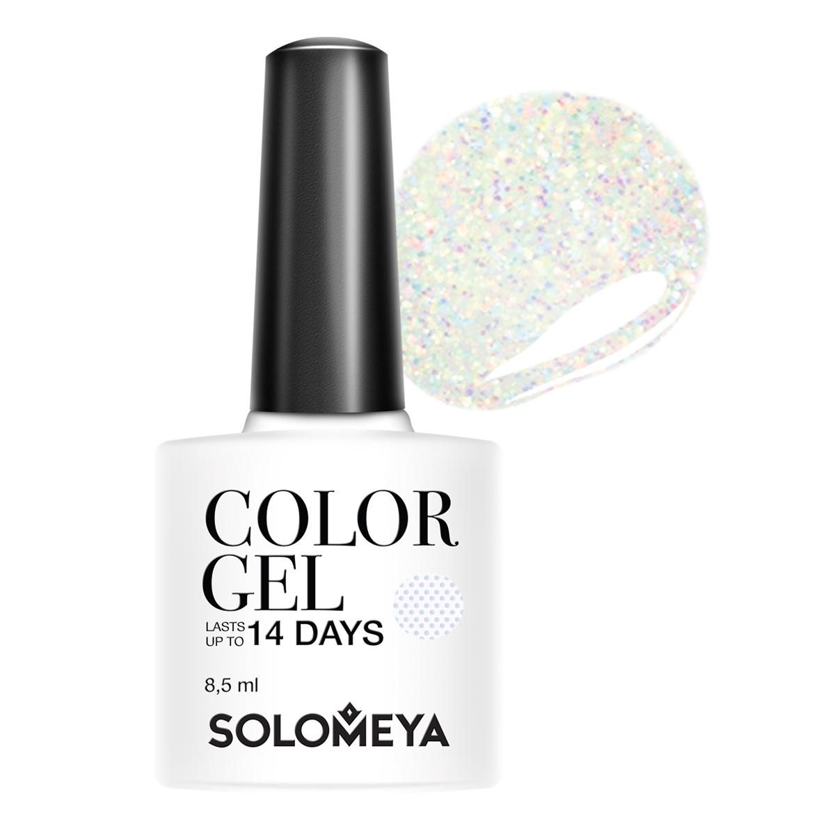 SOLOMEYA Гель-лак для ногтей SCGK108 Сверкай / Color Gel Shine 8,5мл гель лак для ногтей solomeya color gel beret scg034 берет 8 5 мл