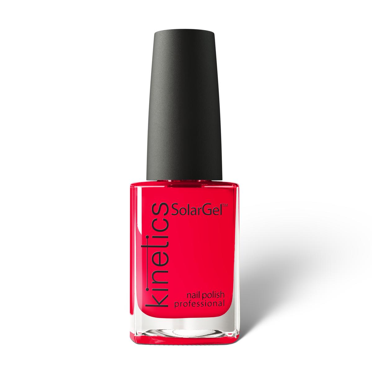 Купить KINETICS 435 лак профессиональный для ногтей / SolarGel Polish Boss Up 15 мл, Красные