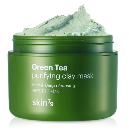 SKIN79 Маска для лица / Green Tea Clay Mask 95 мл маска it s skin green tea watery mask sheet 1 шт