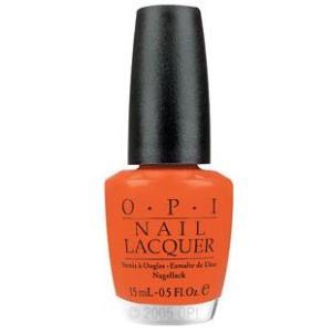 "OPI Лак для ногтей ""Atomic Orange"" / BRIGHTS 15мл от Галерея Косметики"