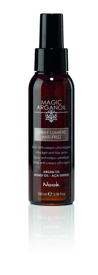 NOOK Спрей ультралегкий для непослушных волос Магия Арганы / Spray Lumiere Anti MAGIC ARGANOIL 100мл