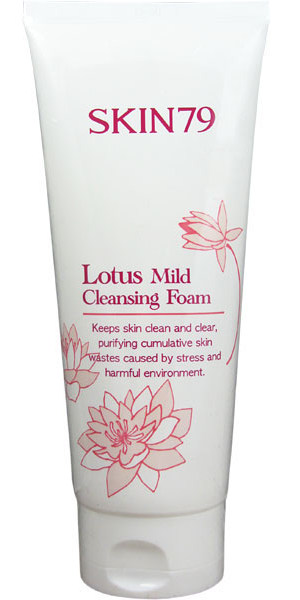 SKIN79 Пенка для умывания, с лотосом / Lotus Mild Cleansing Foam 200 г пенка it s skin green grape cleansing foam