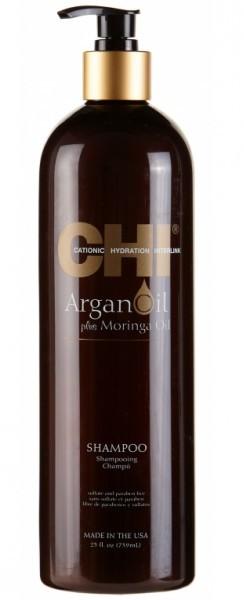 CHI Шампунь с экстрактом масла арганы и дерева моринга / ARGAN OIL 739 мл