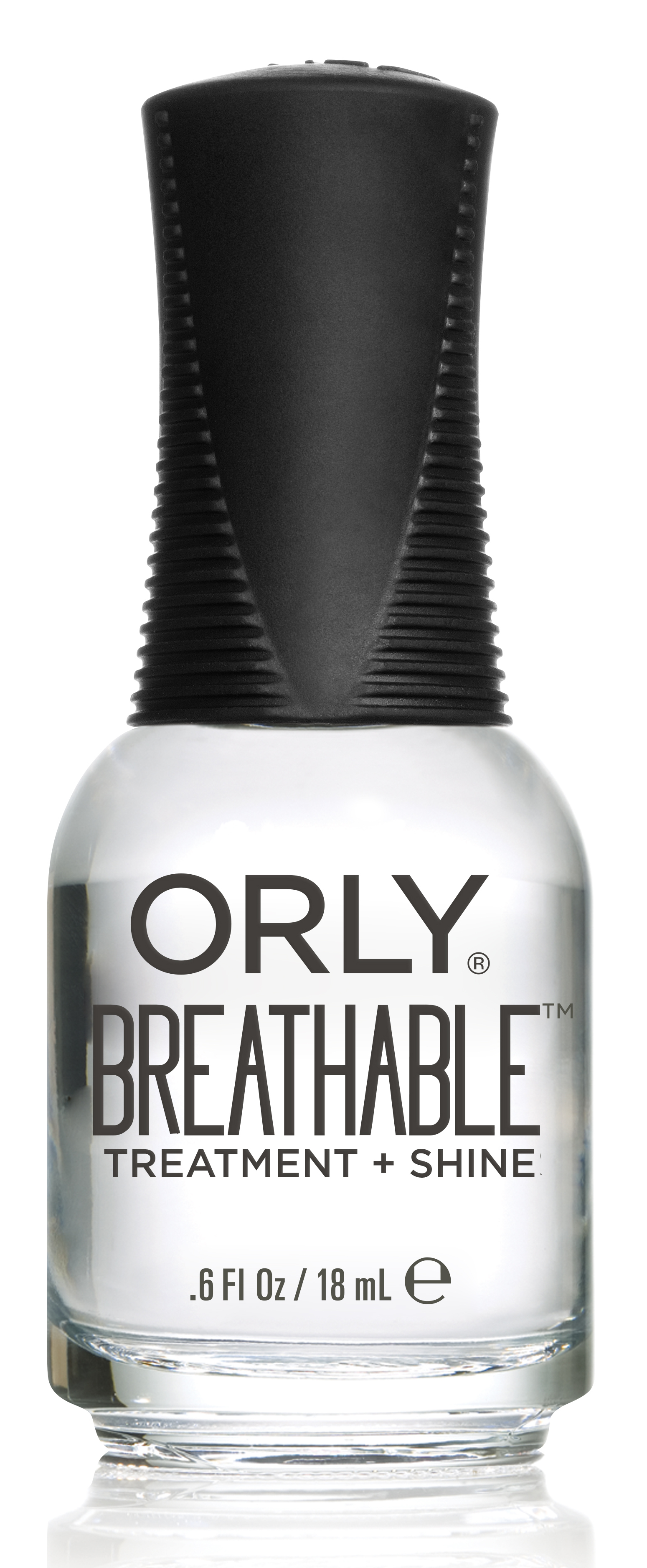 ORLY Уход профессиональный для ногтей / TREATMENT + SHINE BREATHABLE 18 мл - Базовые покрытия