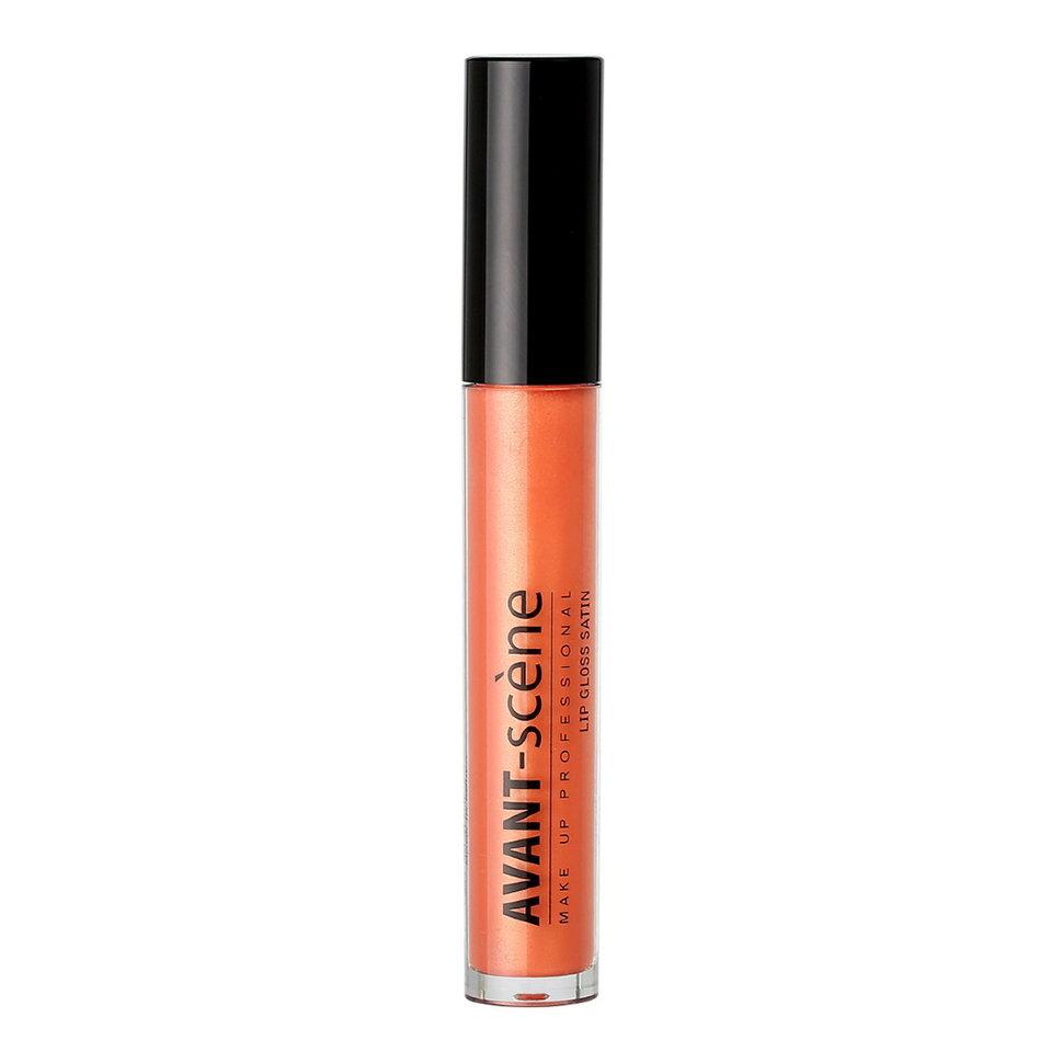 AVANT scene Блеск атласный для губ, №3 оранжевый / Lip Gloss Satin 6 мл блеск для губ glamour gloss тон 82 artdeco