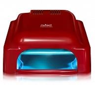 RuNail Лампа-УФ 36ВТ RU 912, красная (таймер: 60, 120, 180 с, бесконечность)