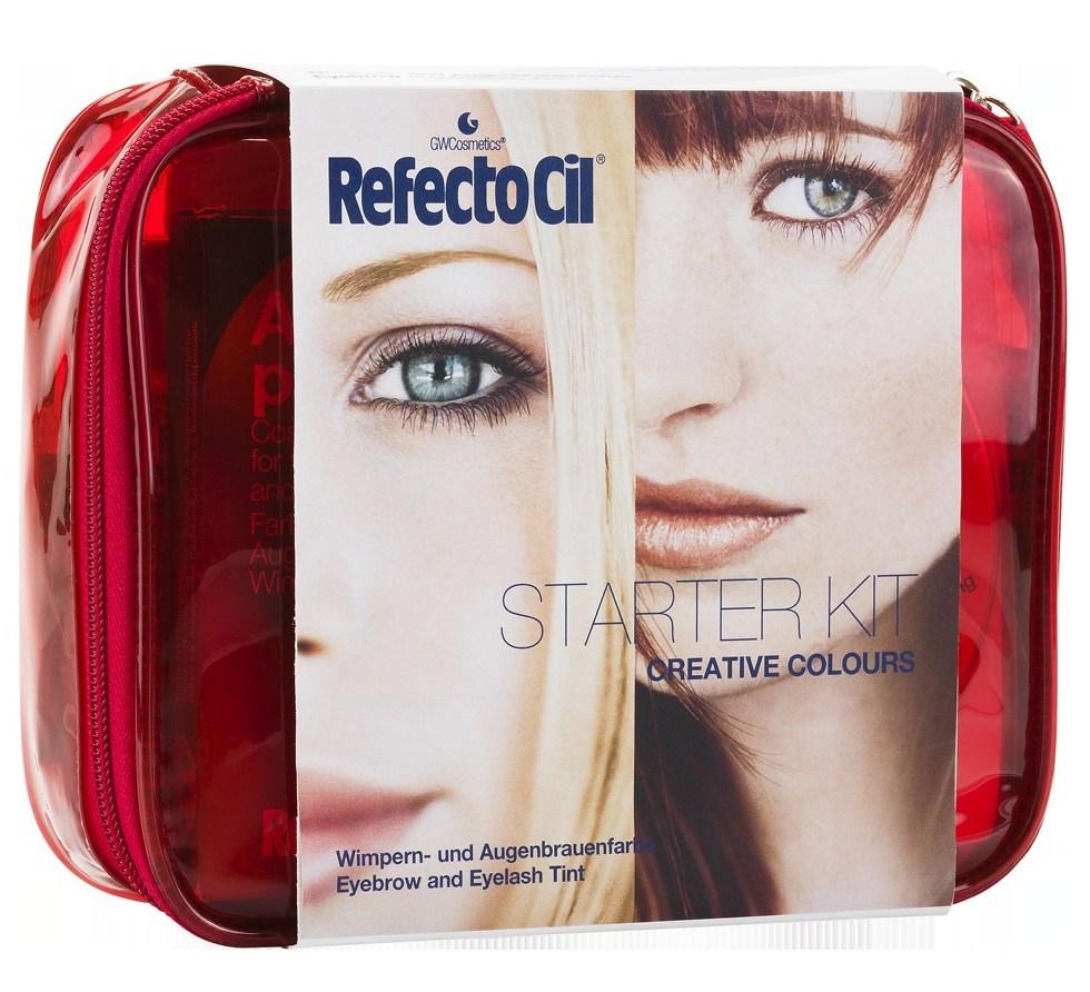 REFECTOCIL Набор креативный для окрашивания бровей и ресниц, красный / Starter Kit Creative Colours