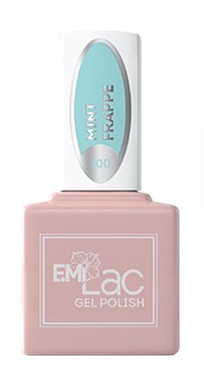 E.MI 100 CW гель-лак для ногтей, Мятное фраппе / E.MiLac 6 мл