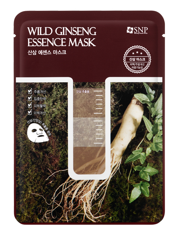 цены SNP Маска с экстрактом корня дикого женьшеня / Wild Ginseng Essence Mask 25 мл