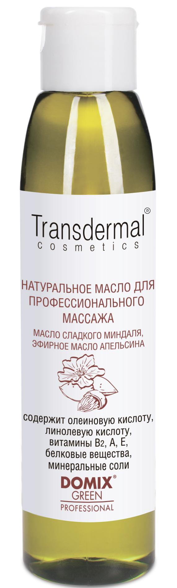 DOMIX Масло сладкого миндаля натуральное, эфирное масло апельсина / TRANSDERMAL COSMETICS 136 мл