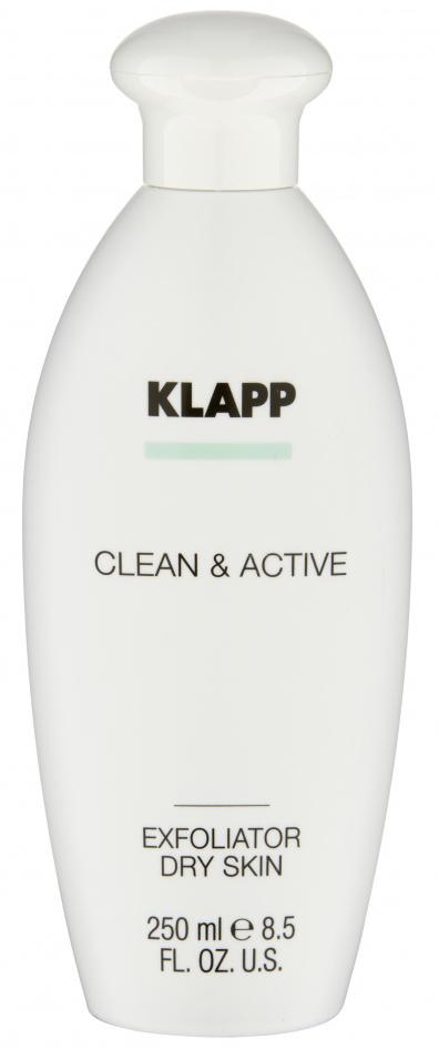 Купить KLAPP Эксфолиатор для сухой кожи / CLEAN & ACTIVE 250 мл