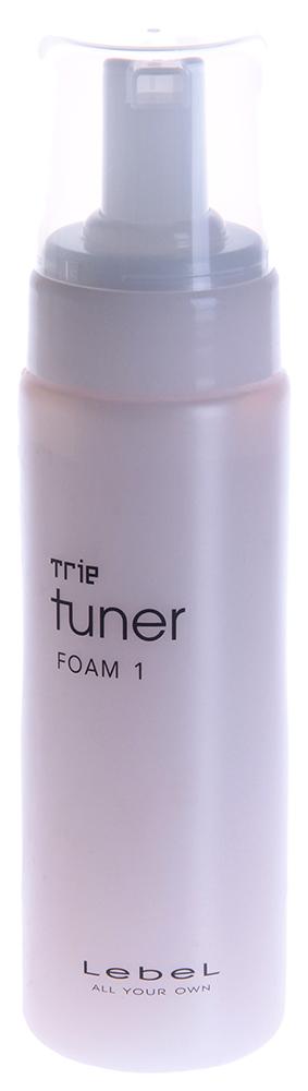 LEBEL Мусс для укладки волос / TRIE TUNER FOAM 1 200млМуссы<br>Слабая фиксация (1). Создаёт прикорневой объём. Уплотняет и увлажняет тонкие волосы. Восстанавливает волосы. Пена обогащена кислородом. Защищает яркость цвета окрашенных и натуральных волос. Идеально подходит для тонких, необъёмных волос. Защищает от УФ (SPF-25). Применение: Небольшое количество пены нанести на прикорневую зону влажных волос. Можно распределить пену по длине. Для тонких волос средней длины   2 нажатия дозатора, для жёстких   3-4). Приступить к укладке.<br><br>Объем: 200