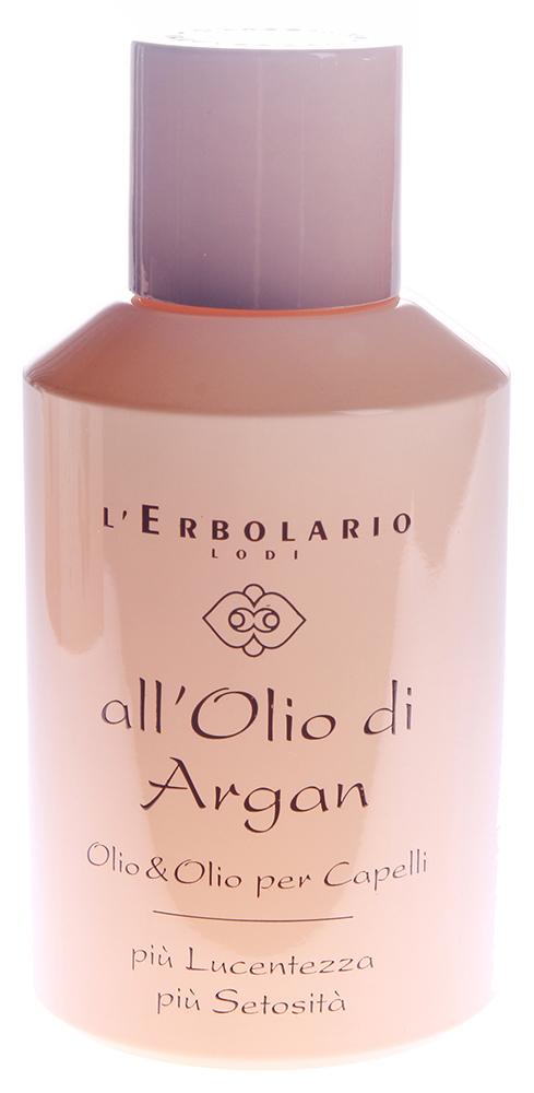 LERBOLARIO Масло для волос Масло Аргании 100 млМасла<br>Это масло очень полезно для всех типов волос, в том числе для вьющихся и непослушных. Масло придает волосам блеск, облегчает расчесывание, делает волосы шелковистыми. Активные ингредиенты: масло из Аргании колючей, витамин Е, масло Катрана абиссинского. Способ применения: каждый раз, когда вы захотите придать своим волосам объем и блеск, мягкость при прикосновении и привлекательный вид, нанесите это масло. Распределите по всей длине волос необходимое количество масла и оставьте как минимум на полчаса. Затем вымойте волосы тем шампунем, которым обычно пользуетесь. Для того чтобы усилить благотворное действие масла, рекомендуется наносить его вечером перед сном и оставить на всю ночь. Масло очень поможет тем, кто находится берегу моря, на пляже или посещает бассейн. Если нанести небольшое количество масла на волосы, оно создаст защитную пленку, предохраняющую волосы от высушивающего действия соли, хлора, ветра и солнца.<br>