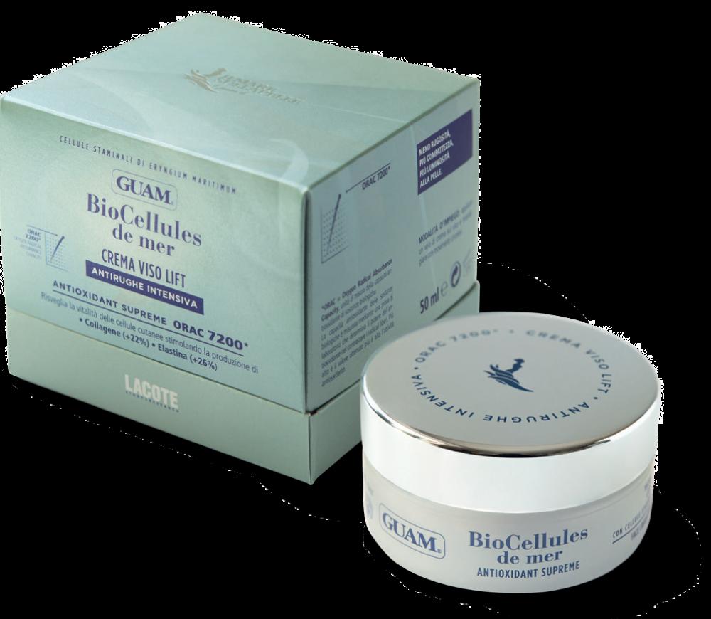 Купить GUAM Крем-лифтинг для лица интенсивный с фитостволовыми клетками / BIOCELLULES DE MER 50 мл