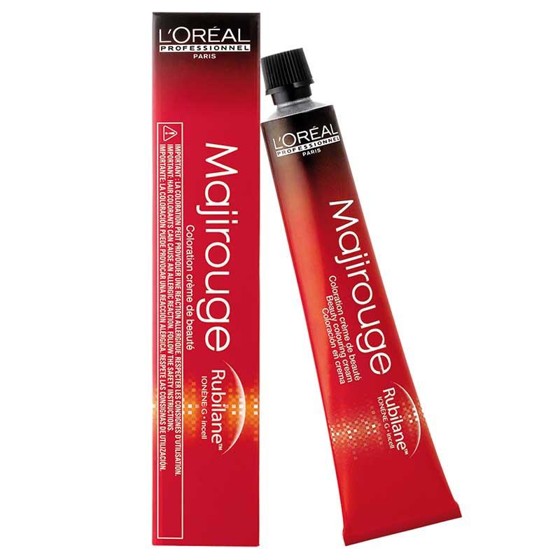 LOREAL PROFESSIONNEL 4.16 краска для волос / МАЖИРУЖ 50млКраски<br>Крем-краска Мажируж&amp;nbsp; Rubilane&amp;nbsp; 4.16 от LOreal Professionnel придает волосам больше мягкости и блеска. Сильные, истинные и выражено элегантные, красные оттенки Rubilane  открывают неповторимую индивидуальность даже самой отчаянной женщины. Блестящие оттенки красного придадут вашему образу игривость - это многодименсиональная краска для волос для создания неповторимого образа. Активные ингредиенты:&amp;nbsp; в составе Rubilane  - это очень действенная молекула нового поколения. Она проникает к самому центру волосяного волокна, открывая насыщенные и блестящие оттенки медного красного. Способ применения: наносить смесь при помощи кисточки на сухие, невымытые волосы. Время выдержки: 35 минут. Тащательно эмульгировать, ополоснуть.<br><br>Объем: 50 мл<br>Пол: Женский