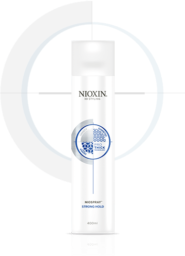 NIOXIN Лак для волос сильной фиксации 400млЛаки<br>Лак для волос завершает процесс укладки и обеспечивает прическе продолжительную сильную фиксацию. Поддерживают объем в течение дня. Рекомендуется для волос имеющим текстуру от средней до жесткой. Pro-Thick - комплекс уплотняющих полимерных микрочастиц, обволакивающих каждый волос невесомой оболочкой без утяжеления. Волосы визуально становятся объемнее и гуще. Кроме этого, между волосами образуются невидимые прочные и эластичные связи, которые сохраняют объем и форму прически. Протестирован дерматологами. Результат: сильная и надежная фиксация, утолщение волос. Активные ингредиенты: современная технология Pro-Thick - комплекс уплотняющих полимерных микрочастиц. Способ применения: распылите лак на сухие волосы для надежной фиксации и контроля укладки.<br><br>Типы волос: Для всех типов
