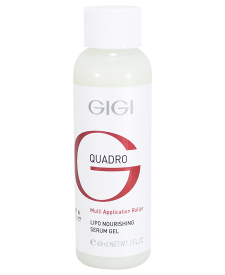 GIGI Сыворотка питательная / QMA Lipo Nourishing Serum Gel 60 мл gigi оптимизирующая сыворотка recovery optimizing serum 30 мл