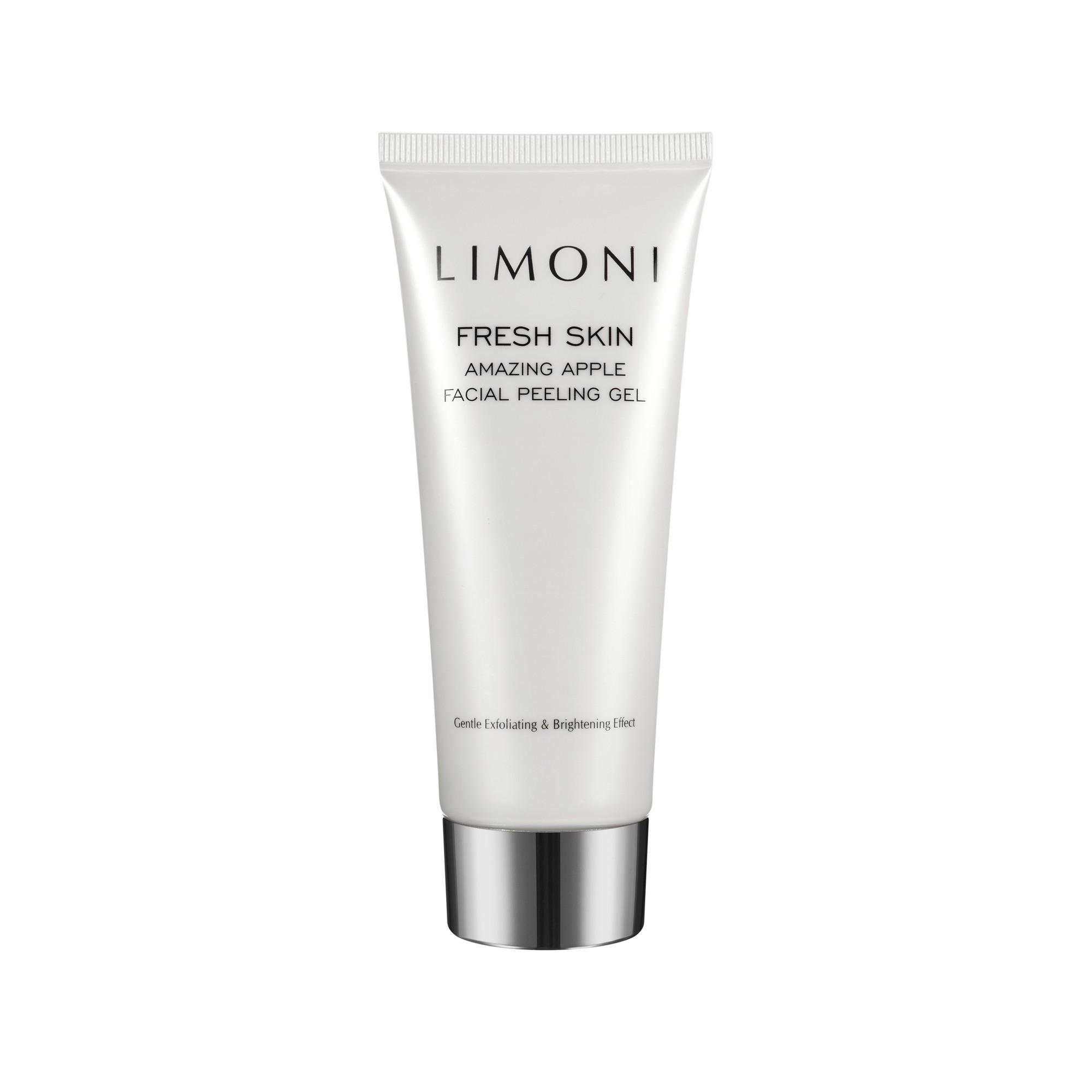 LIMONI Пилинг-гель для лица яблочный / Amazing Apple Facial Peeling Gel 100 мл