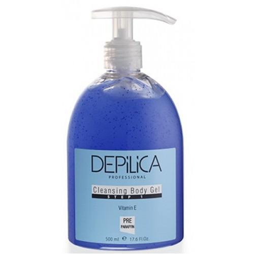 DEPILICA PROFESSIONAL Гель очищающий для тела (шаг 1) / Cleansing Body Gel 500мл