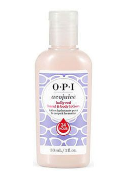 OPI Лосьон для рук и тела Holly Red / Avojuice Hand  Body Lotion 30мл
