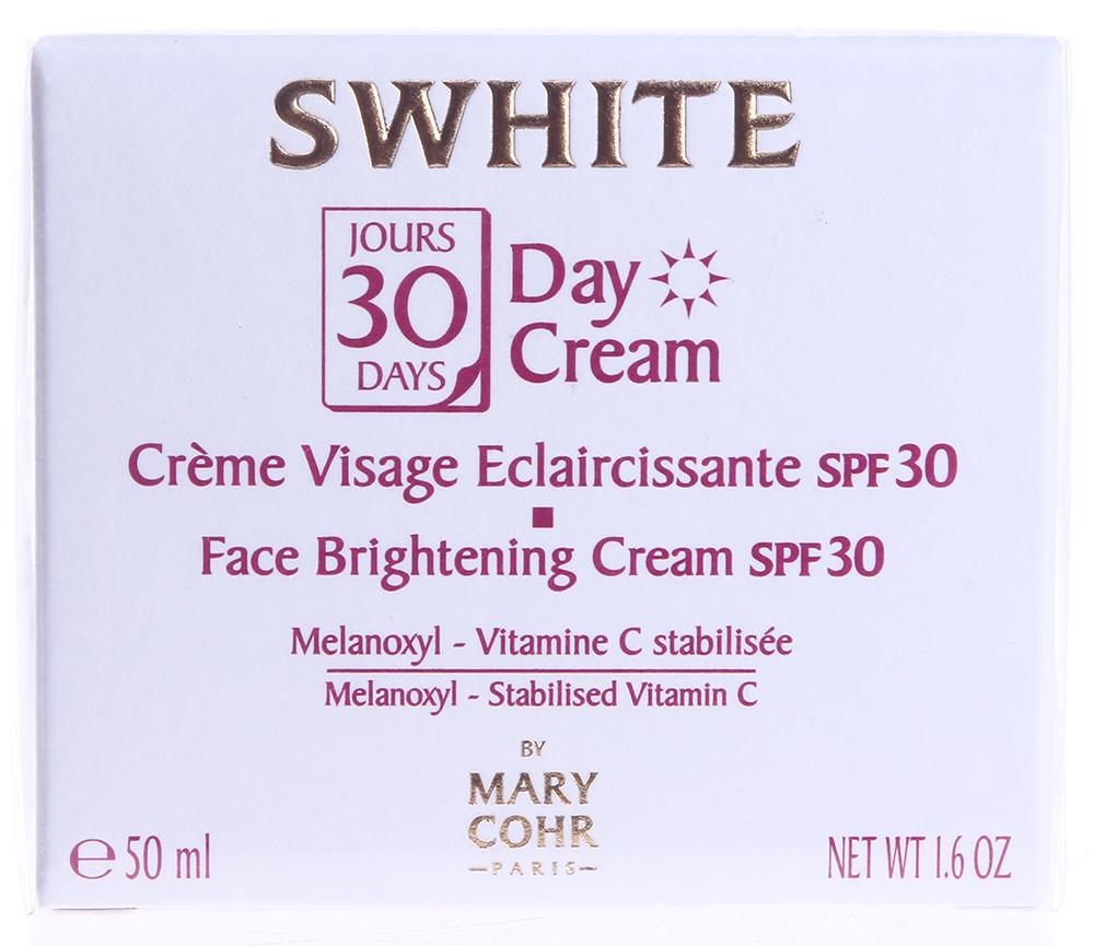 "MARY COHR ���� ������������� ���� ���� ������� ""30 ����"" SPF30 / Swhite 30 Jours Day Cream 50��"