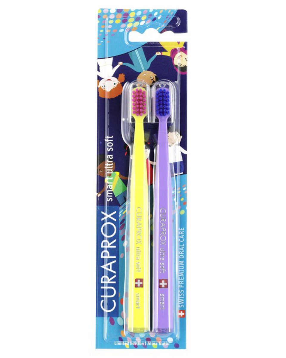 Купить CURAPROX Набор зубных щеток ultrasoft smart / Duo World Limited edition 2 шт