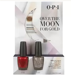 OPI Набор лаков Over the Moon for Gold #1(HRG32, HRG46) 2*15мл~