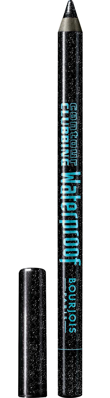 BOURJOIS Карандаш водостойкий для глаз 48 / Contour Clubbing Waterproof atomic black -  Карандаши