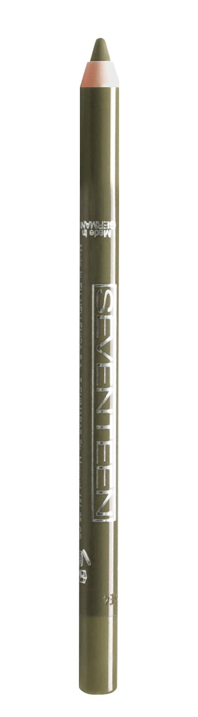 SEVENTEEN Карандаш водостойкий с витамином Е для век, 13 олива / Super Smooth W/P & Longstay 1,2 г
