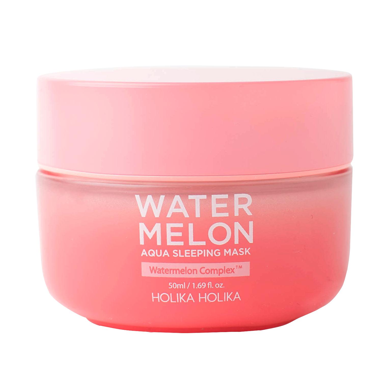 Купить HOLIKA HOLIKA Маска ночная увлажняющая для лица с экстрактом арбуза / Water Melon Aqua Sleeping Mask 50 мл