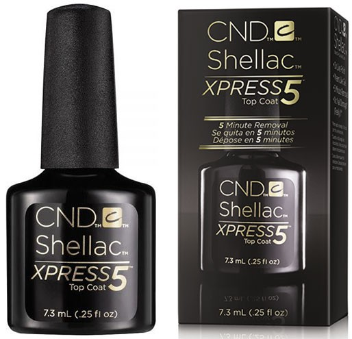 CND Покрытие верхнее CND SHELLAC Xpress5 Top Coat 7,3мл cnd типсы 7 cnd clear performance 17338 50 шт