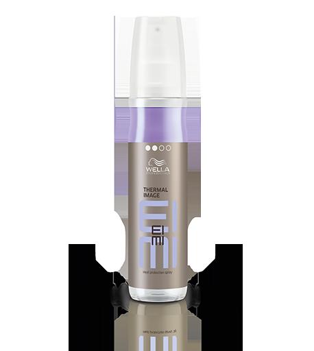 WELLA Спрей термозащитный THERMAL IMAGE / EIMI 150млСпреи<br>Степень фиксации - 2.&amp;nbsp; Защитите волосы во время горячей укладки с помощью Wella EIMI Thermal Image термозащитного двухфазного спрея для волос. фаза 1 - питает волосы и защищает их от воздействия высоких температур до 200С фаза 2 - придает волосам зеркальную гладкость и блеск. Способ применения: хорошо встряхнуть флакон. Распылить продукт с расстояния вытянутой руки на сухие волосы, равномерно прядь за прядью. Приступайте к горячей укладке утюжком или щипцами.<br><br>Объем: 150 мл<br>Вид средства для волос: Двухфазный