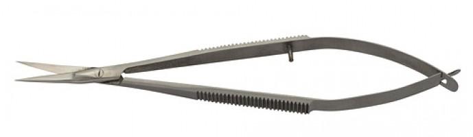 METZGER Ножницы для кожи CS-908-D (CVD), изогнутые матовые
