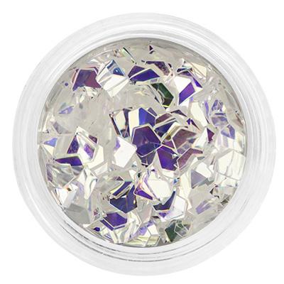 Декор оригами-алмазы, в баночке 01
