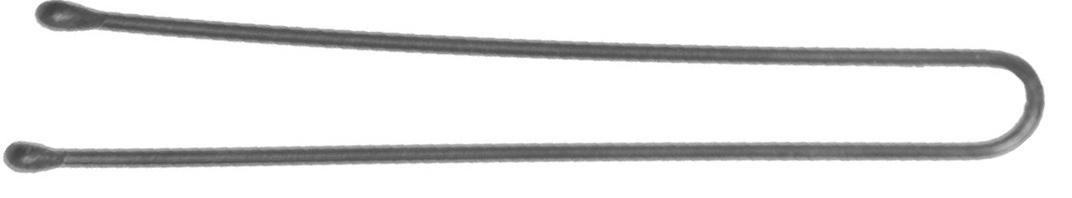 Dewal professional шпильки серебристые, прямые 60 мм, 60