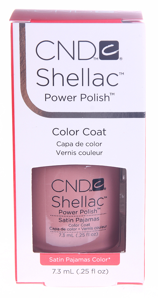 CND 086 покрытие гелевое Satin Pajamas / SHELLAC 7,3мл