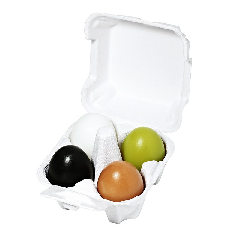 HOLIKA HOLIKA Набор мыло (уголь + глина + зеленый чай + белок яйца) & Эгг Соап&  / Egg Soap Special Set 4*50гр -  Мыла