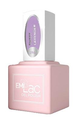 Купить E.MI 196 PR гель-лак для ногтей, Лаванда / E.MiLac 6 мл, Фиолетовые