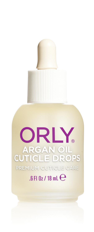 ORLY Капли для кутикулы с аргановым маслом / ARGAN OIL CUTICLE DROPSДля кутикулы<br>Масло для кутикулы Argan Oil Cuticle Drops от ORLY разработано на основе уникального масла Арганы, которое на 80% состоит из ненасыщенных жирных кислот. В состав масла входят антиоксиданты, витамины А, Е. Масло Argan Oil Cuticle Drops снимает воспаление и быстро восстанавливает сухую обезвоженную кутикулу, интенсивно питает и возвращает ногтям здоровый ухоженный вид. Масло для кутикулы Argan Oil Cuticle Drops имеет удобную пипетку, обеспечивающую капельное нанесение. Способ применения: нанесите небольшое количество масла на зону кутикулы и вотрите массажными движениями в кожу вокруг ногтя. Рекомендовано для ежедневного использования. С чем использовать: для достижения наилучшего результата комбинируйте Argan Oil Cuticle Drops с препаратами для укрепления ногтей Tough Cookie или Nailtrition и ваши ногти станут прочными и здоровыми уже через 2 недели. Активные ингредиенты. Состав: Масло семян подсолнечника, масло аргановое, масло жожоба, отдушка, масло вечерней примулы, масло виноградной косточки, лимонное масло, сафлоровое масло, экстракт листьев барбадосского алоэ, токоферол, бензил бензоат, цитраль, гераниол, лимонен, линалоол.<br>