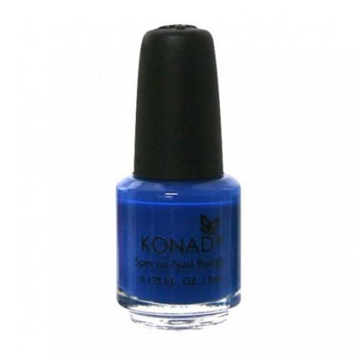 KONAD Лак на акриловой основе для стемпинга, синий S22 5 мл повседневный лак konad regular nail polish konad psyche green