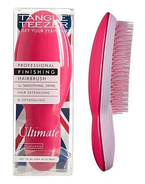 TANGLE TEEZER Расческа для волос, розовая / The Ultimate Pink - Расчески