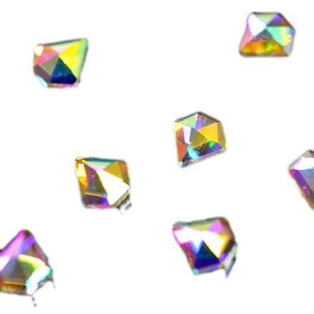 Купить PATRISA NAIL Стразы фигурные Алмаз супер-голография 5*5 мм 10 шт