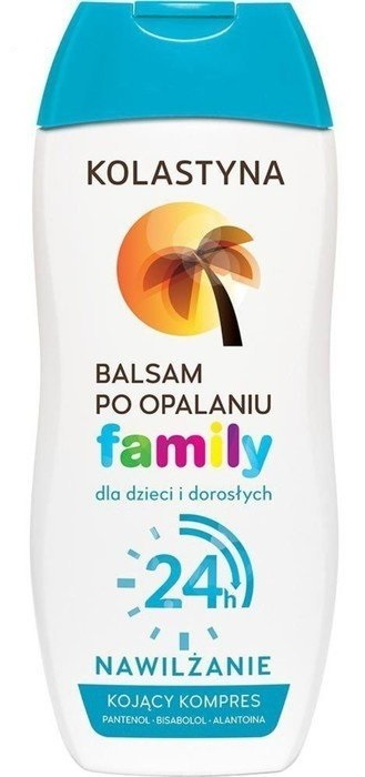 Купить KOLASTYNA Бальзам после загара для детей и взрослых / FAMILY 200 мл